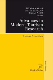 Advances in Modern Tourism Research: Economic Perspectives