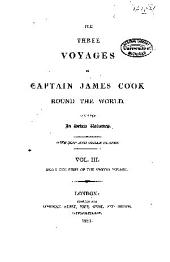 The three voyages of Captain James Cook around the world