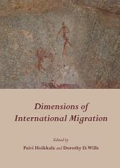 Dimensions of International Migration