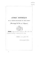 Aperçu historique de la Société hollandaise du bien public