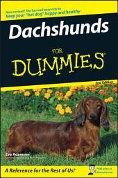 Dachshunds For Dummies: Edition 2
