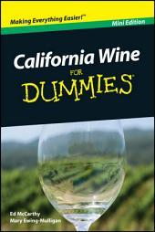 California Wine For Dummies, Mini Edition