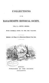 Collections of the Massachusetts Historical Society