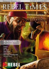 REBEL TIMES 91: Nowości i wiadomości ze świata gier planszowych