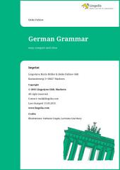 German Grammar: easy, compact and clear