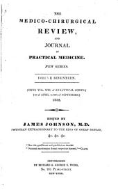 The Medico-chirurgical review: Volume 21