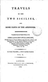 Travels in the Two Sicilies, and some parts of the Apennines. Tr. from the Italian