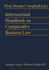 International Handbook on Comparative Business Law