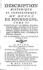 Description générale et particulière du duché de Bourgogne, précédé de l'abrégé historique de cette province: Volume6