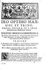 Resp. Quæstio medica, Præs. N. Andry, An in humeri luxatione ambe potius, quam scala, janua, polyspastusque iterato renovata?.