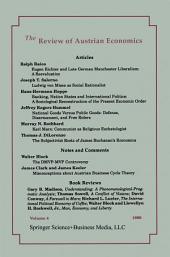 The Review of Austrian Economics: Volume 4