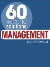 60 Second Solutions: Management