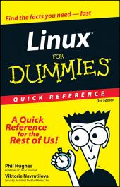 Linux For Dummies Quick Reference: Edition 3