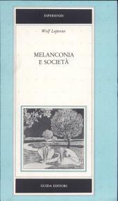 Melanconia e società