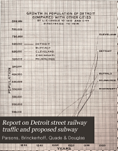 Report on Detroit Street Railway Traffic and Proposed Subway