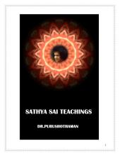 Sathya Sai Teachings