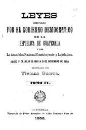 Recopilación de las leyes de la República de Guatemala: Volumen 4