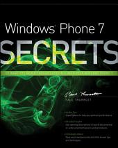 Windows Phone 7 Secrets