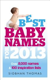 Best Baby Names for 2013