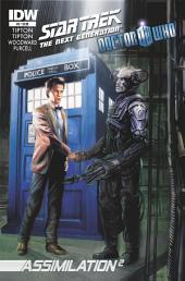 Star Trek TNG/Doctor Who: Assimilation #6