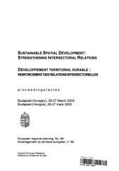 Développement territorial durable : renforcement des relations intersectorelles