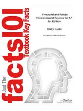 e-Study Guide for: Friedland and Relyea Environmental Science for AP: Earth sciences, Environmental science