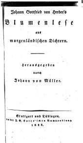 Johann Gottfried von Herder's sämmtliche Werke: zur schönen Literatur und Kunst, Volumes 9-10