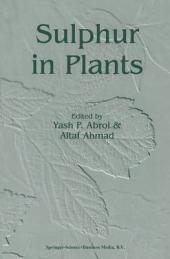 Sulphur in Plants