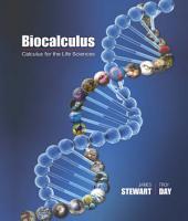Biocalculus: Calculus for Life Sciences