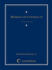 Murray on Contracts: Edition 5