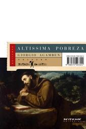 Altíssima pobreza: Regras monásticas e forma de vida [Homo Sacer, IV, 1]