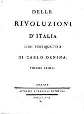 Delle rivoluzioni d'Italia libri venti quattro