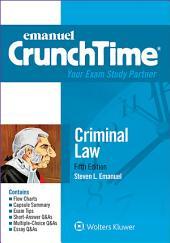 Emanuel CrunchTime for Criminal Law