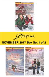 Harlequin Love Inspired November 2017 - Box Set 1 of 2: Secret Christmas Twins\Christmas on the Ranch\The Lawman's Yuletide Baby