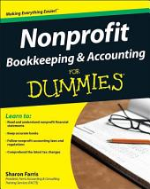 Nonprofit Bookkeeping & Accounting For Dummies