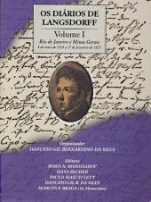 Os diários de Langsdorff -: Volume 1
