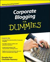 Corporate Blogging For Dummies
