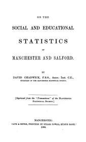 On the social and educational statistics of Manchester and Salford