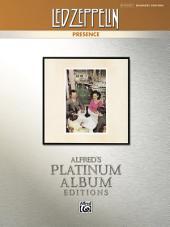 Led Zeppelin - Presence Platinum Album Edition: Drum Set Transcriptions