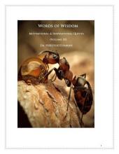 Words of Wisdom (Volume 10): 1001 Quotes & Quotations