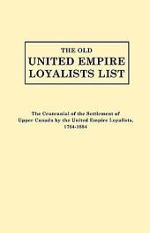 The Old United Empire Loyalists List