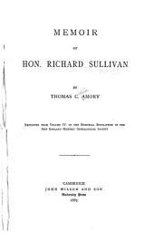 Memoir of Hon. Richard Sullivan