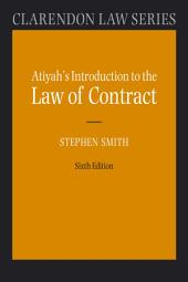 Atiyah's Introduction to the Law of Contract: Edition 6