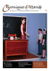 Chroniques d'Altaride n°4 Septembre 2012: La Rentrée