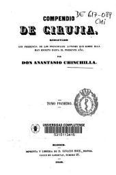 Compendio de cirujia: redactado con presencia de los principales autores ...