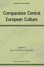 Comparative Central European Culture