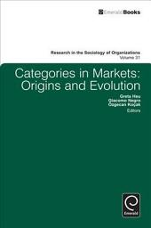 Categories in Markets: Origins and Evolution