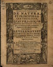 De natura et principiis sacrae theologiae