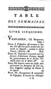 Histoire des révolutions de l'empire romain, pour servir de suite à celle des révolutions de la république