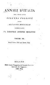 Annali d'Italia dal principio dell'era volgare sino all' anno MDCCXLIX